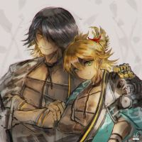[Practice] Kotetsu brothers by girlsay