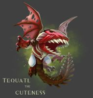 Tequatl The Cuteness by Kobold-Art