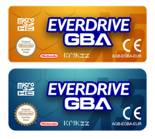 EverdriveGBA Custom Labels by NeoRame