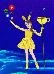 GTLive Magical Girl Steph by narakus-phoenix