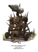 Orc Siege Engine by JamesJKrause