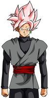 Goku Black ssj Rose v10 by jaredsongohan