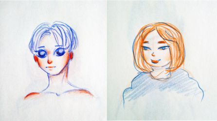 quick sketches by Rud-Anna