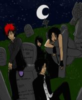 SP - Hangin in a Cemetary 2 by Kireikage