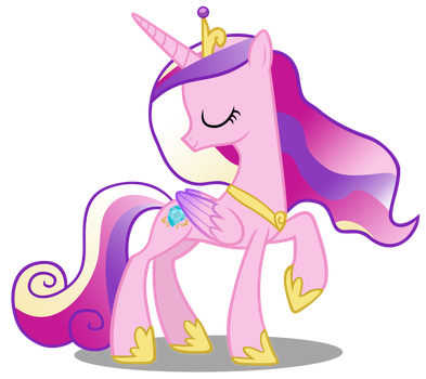 Princess Cadance by Bronyvectors