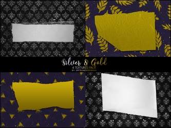 Silver And Gold Textures By Imtsunderebaka by ImTsundereBaka