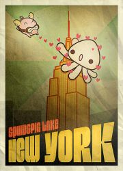 Squid and Pig take New York by SquidPig