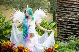 AFO 2012 - Wild Princess Celestia by stillreflection