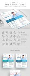 Medical Business Flyer Template 2 by survivorcz