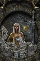 Vali-and-Vasilisa-in-The-Iron-Forest-DETAIL by taisteng