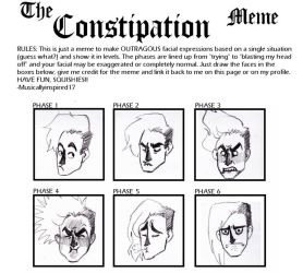Constipation Meme by Microbluefish