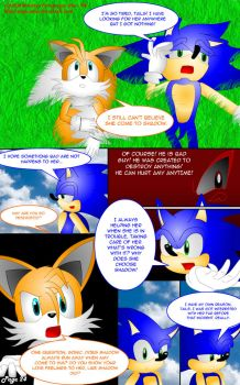 SonAmy Story Page 24 by Ran-TH