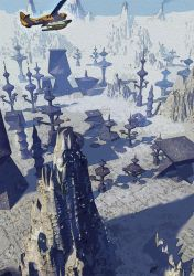 At the Mountains of Madness - Abandoned Stone-City by FrancisLugfran