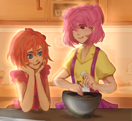 Baking time dramatic version by ChocoStyle