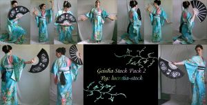 geisha stock pack2 by lucretia-stock