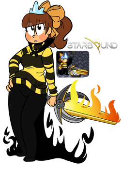 Starbound Character by BefishProductions