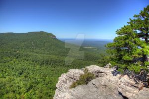 View From Hanging Rock by Mooseushi