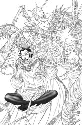 HIGH RES - MASH #9 Feat. Doctor Strange by rogercruz