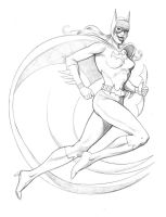Batgirl / Barbara Gordon- (DC Comics)- Pencils by FnkNY