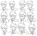 Stephen Taber - Expressions page by KTechnicolour