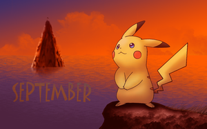 Pikachu, the september pokemon