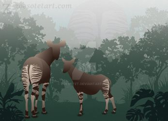 Okapi by ZoeSotet