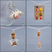 New Christmas Jewelry by PepperTreeArt