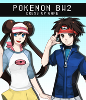 PKMN BW2 Dress Up Game by BEERINGS