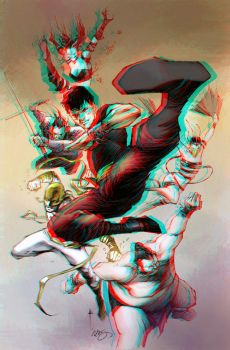 Shang chi and Iron fist 3D by Fan2Relief3D