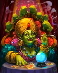 fortune-teller by Philiera