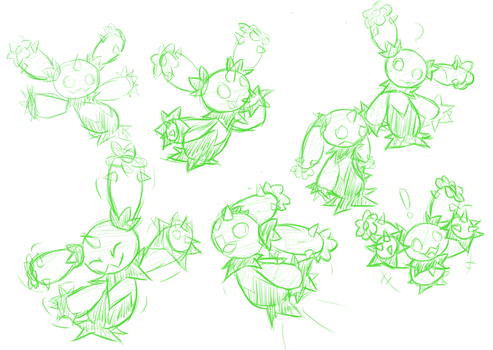 Maractus sketches! by Pavagat