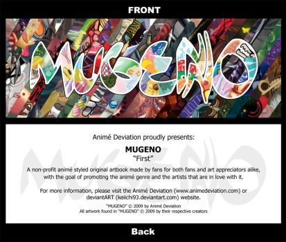 MUGENO - promotional bookmark by keiichi93