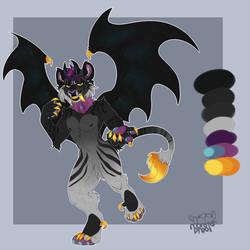 +MOODBOARD EGG ADOPT+Demon Saber! by IMonsterDrool