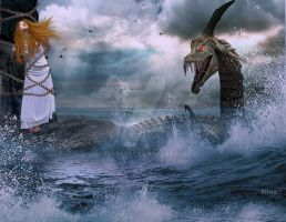 Andromeda and the Sea Monster by BBstar7