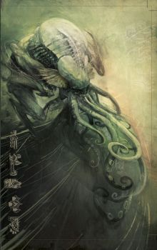 CTHULU TALES_gr edition.Cover by CrankBot