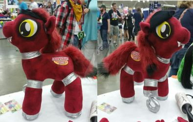 FNAF FOXY AS A PONY MLP by kopeskreations