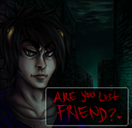 Are you lost friend? by ThisTeaIsTooSweet