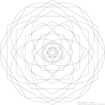 Coloring Page 4 'Hexed' by fewilcox
