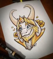 Asgore by Oomles