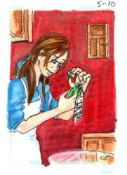 ATC - Alice and the Bad habit by lissa-quon