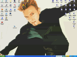 David Bowie Desktop by SeltzerAddict