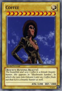 Coffee Yu-Gi-Oh Card by Amphitrite7