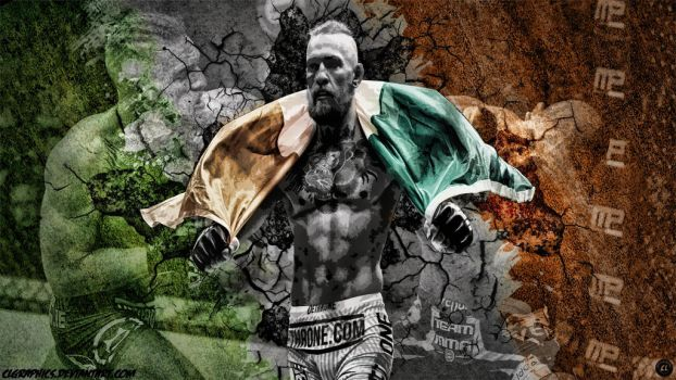 Conor Mcgregor Wallpaper by clgraphics