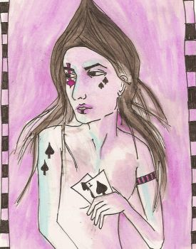 Spades by catmorley