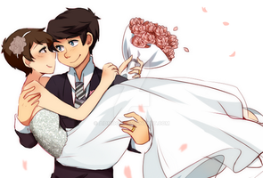 Wedding {nikkiler] by aidmoon