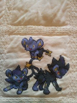Pokemon quilt cross stitch - Square 6 by cardinalchang
