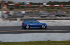 Blue VW Drag Race by Focus-Fire
