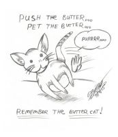 Remember The Buttercat!!! by jimmysworld