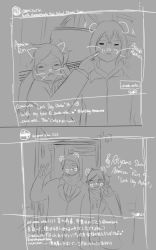 Rin's last day sketches by Robianna07