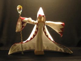 White Mage - Artisan Doll 5 by PaperCadence